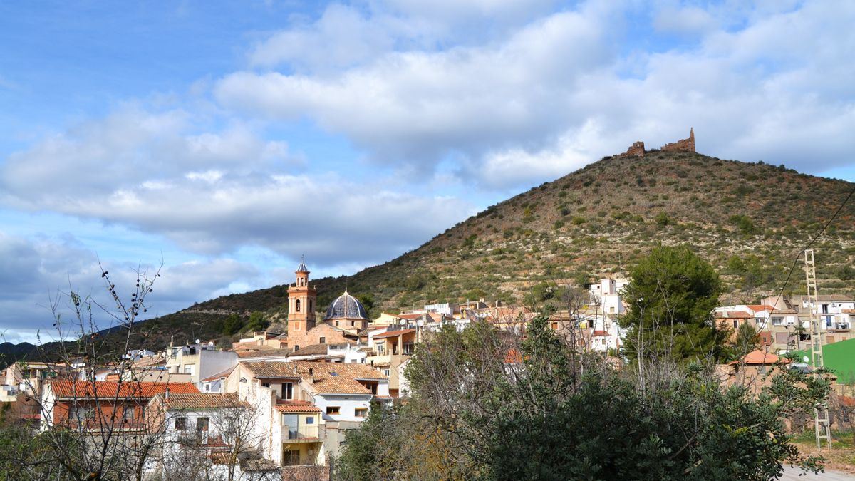Azuébar, un dels xicotets municipis de l'Alt Palància en els quals s'ha posat en marxa el projecte Itinerant.