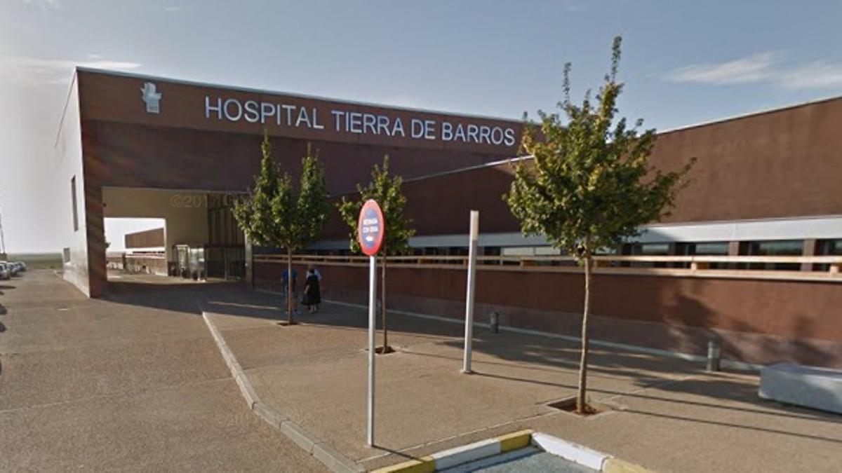 El Hospital Tierra de Barros tiene un brote con cuatro casos y 14 contactos