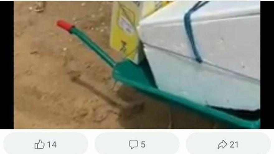 Detienen a un usuario de Facebook acusado de un delito de odio contra el policía apuñalado en Punta