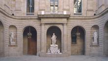 Patio de la Llotja de Mar, sede histórica de la Cambra de Comerç de Barcelona