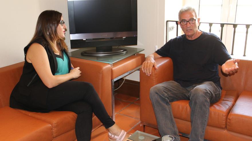 María Díaz y Diego Cañamero FOTO: Podemos CLM