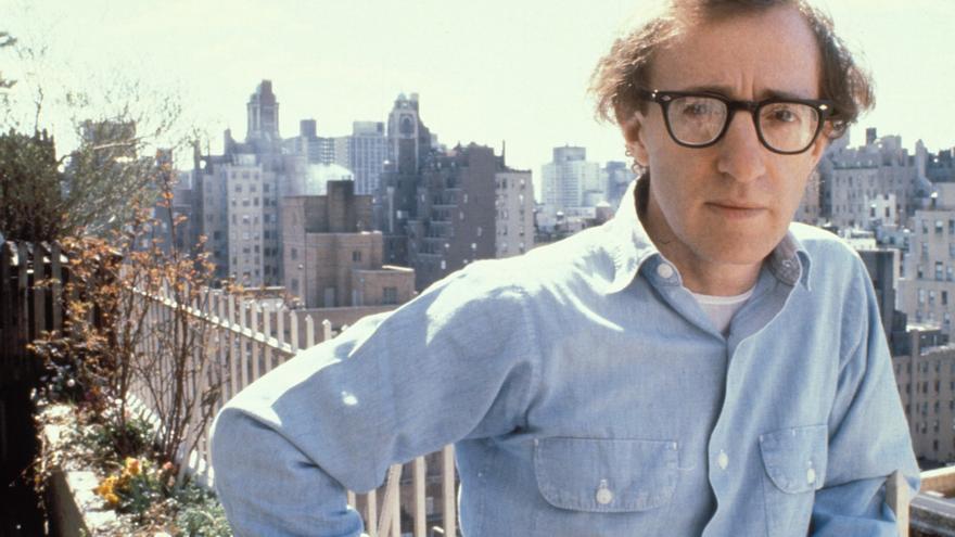 Woody Allen en 1980.