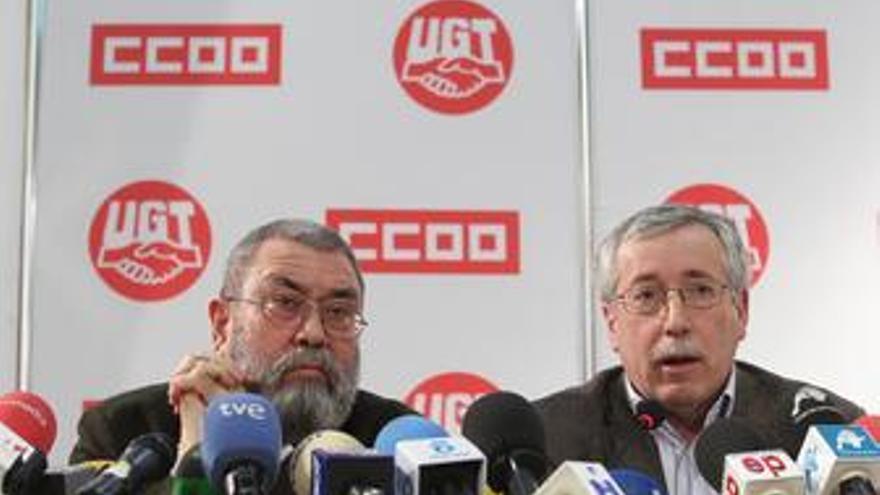 Toxo y Méndez hablan sobre el pacto social