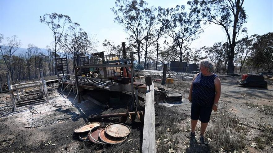 Calor extremo e incendios más frecuentes en Australia por el cambio climático