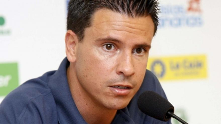 Sergio Lobera, entrenador de la UD Las Palmas. (ACFI PRESS)