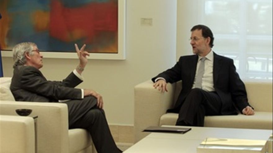 Rajoy Recibe A Xavier Trias