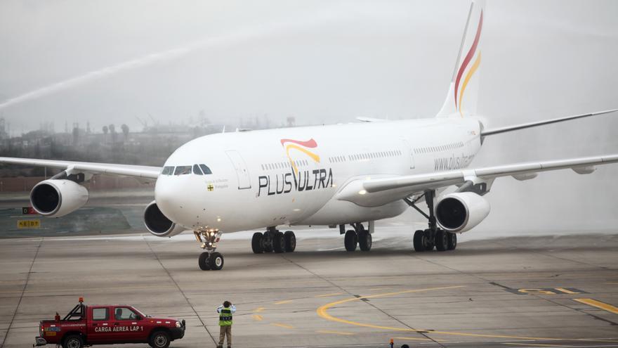La aerolínea PLus Ultra dice que no tiene ninguna vinculación con el chavismo