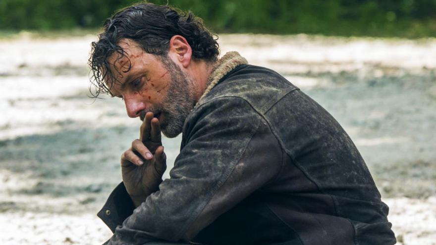 """Andrew Lincoln en """"The Walking Dead"""""""