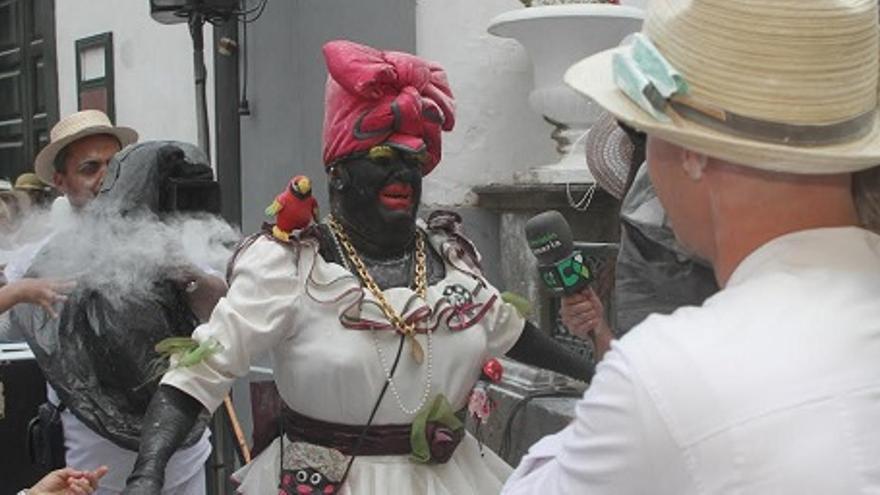 Imagen de archivo de la 'Negra Tomasa'