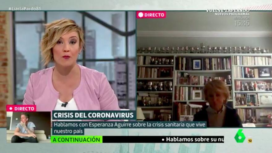 """Esperanza Aguirre negó haber hecho recortes en Sanidad: """"Construimos 12 hospitales públicos nuevos"""""""