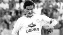 Toño Hernández, en una imagen de la temporada 92/93.