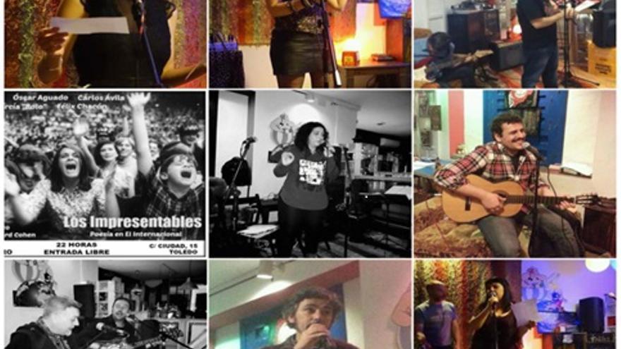 Recital poético 'Los Impresentables' en Toledo