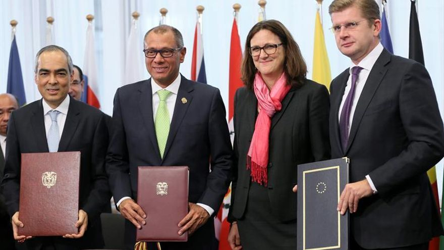 Ecuador se suma a un acuerdo comercial que tranquiliza al sector exportador