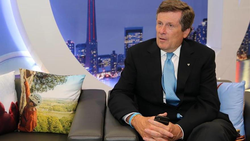 Toronto quiere cobrar peajes a los automóviles que entran en la ciudad