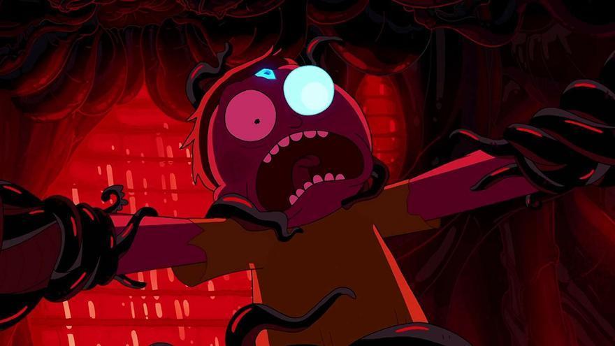 Morty en el primer capítulo de la cuarta temporada