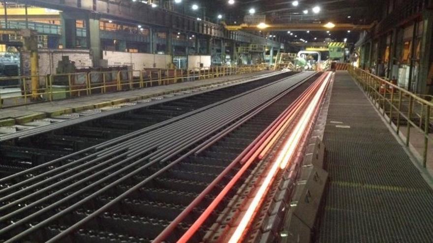 El comité de Sidenor convoca una manifestación mañana en Reinosa ante los planes de venta de la fábrica