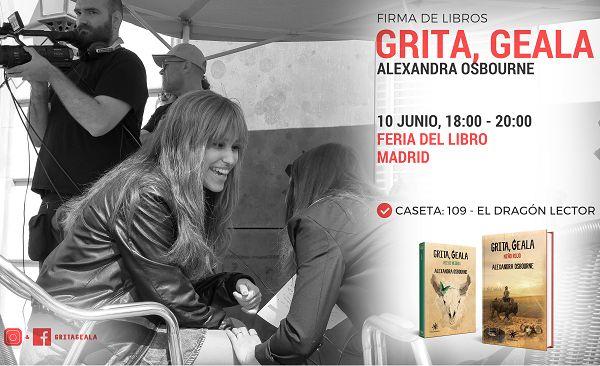 """Firmas Feria del Libro de Madrid 2018 de """"Grita, Geala"""""""