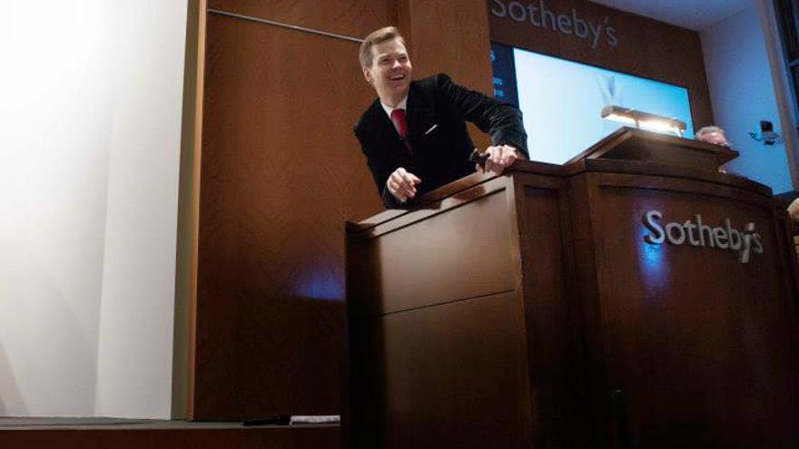 Una subasta celebrada en la galería Sotheby's, que ahora ha alcanzado un acuerdo con eBay (Foto: Sotheby's | Facebook)