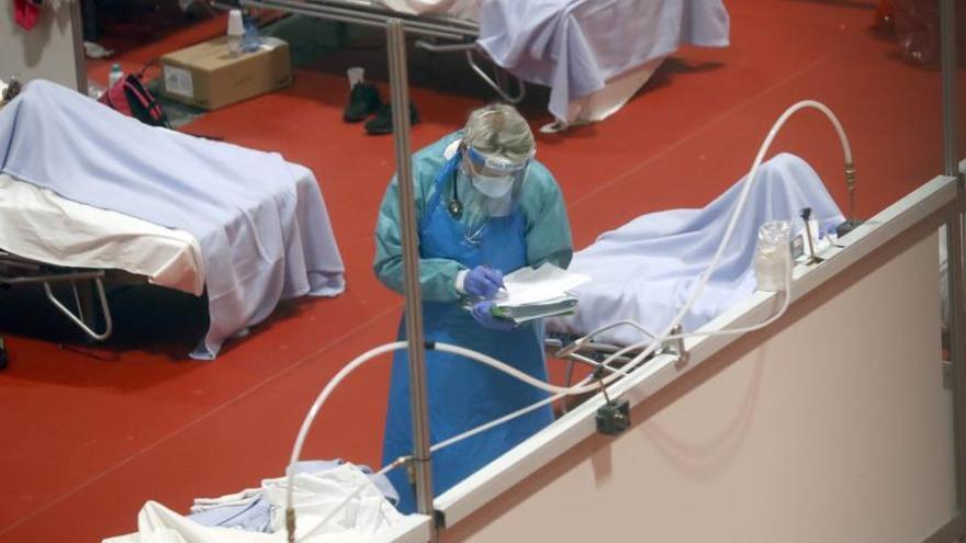 Cirujanos madrileños agradecen el esfuerzo del Hospital IFEMA