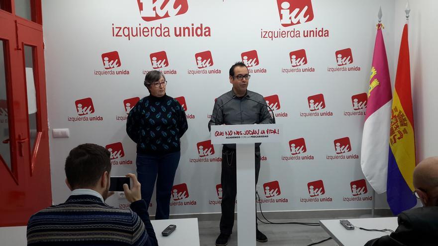 Juan Ramón Crespo, este martes, en rueda de prensa