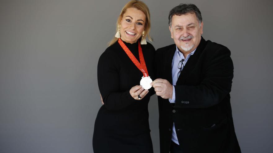 Insignia Olímpica a Manuel Galván