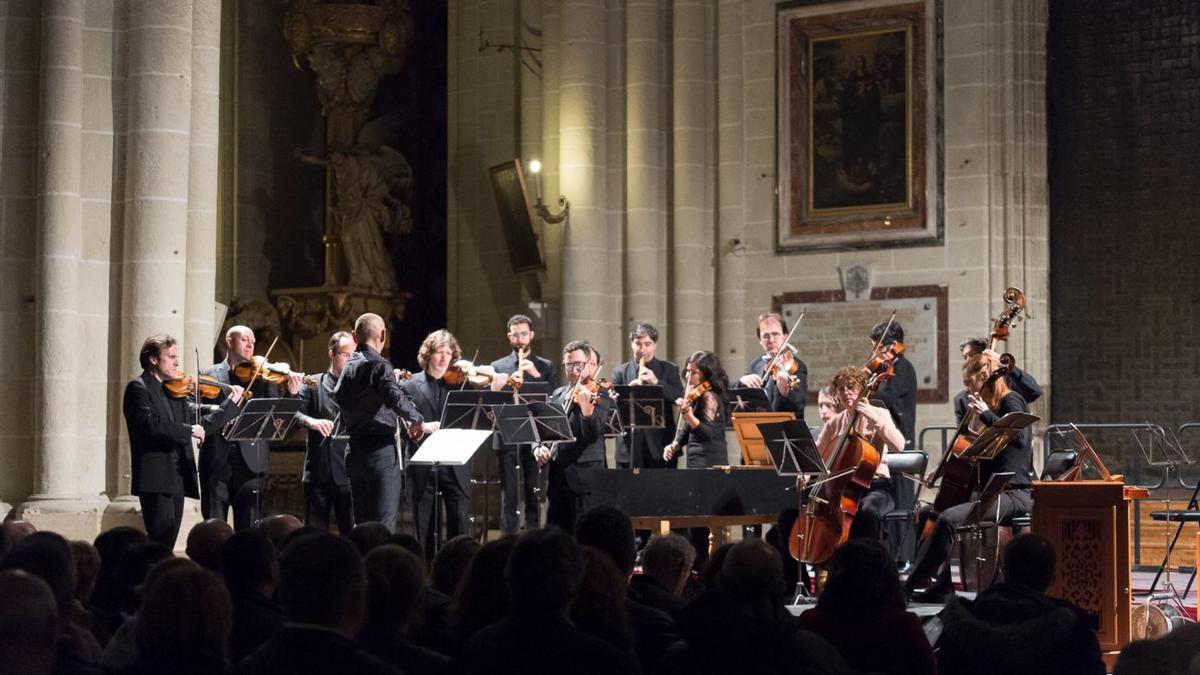Imagen de archivo de la Orquesta Barroca de Sevilla