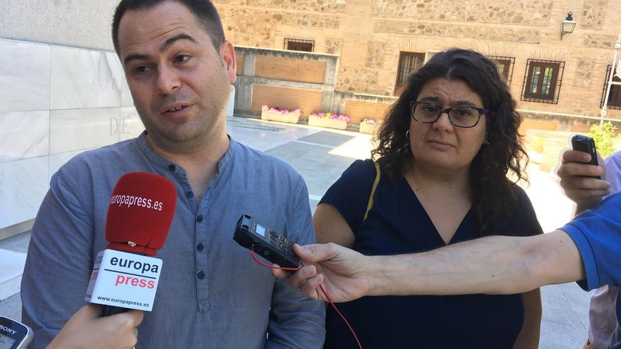 David García Llorente y Cristina Cancho