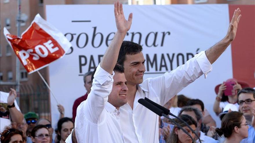 Rajoy dobla en Badajoz y Toledo y Sánchez estará en las tres capitales vascas