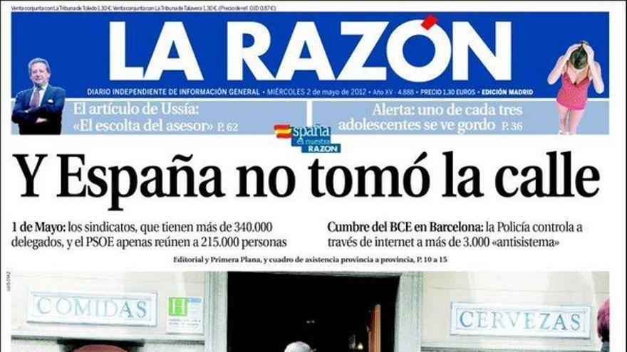 De las portadas del día (02/05/2012) #9