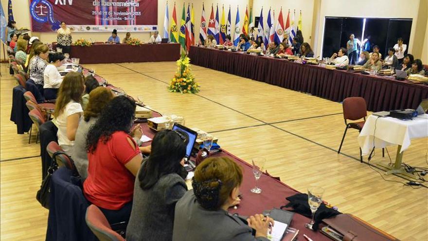Magistradas Iberoamérica piden sistemas judiciales con perspectiva de género