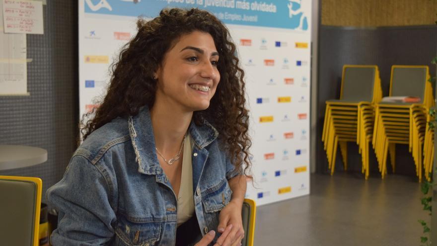 Marlene Hernández Iglesias, una de las participantes en el programa Aprender Trabajando.