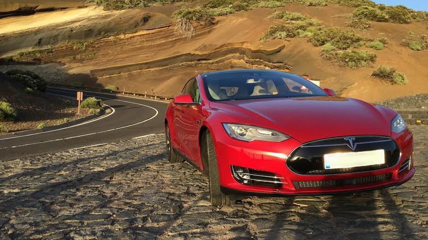 Vehículo Tesla.