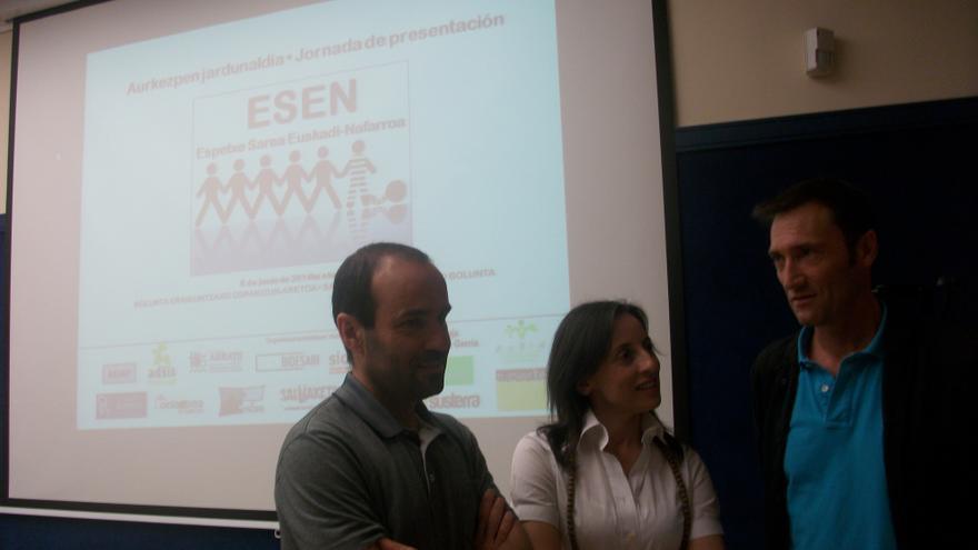Presentación de la red de trabajo ESEN (Espetxe Sarea Euskadi-Nafarroa) sobre la realidad de los reclusos en las cárceles vascas.
