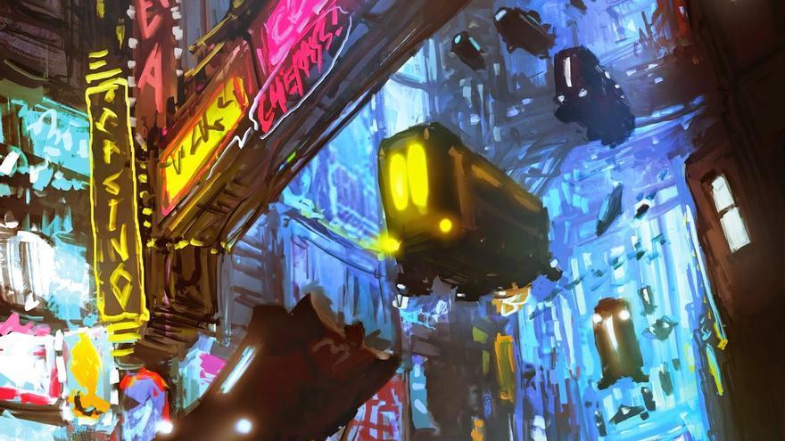 'Cyber-ciudad', de José Carlos Nevarez Soto
