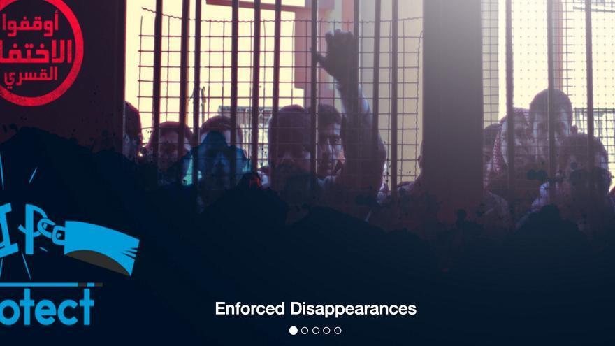 La app intenta proteger a  los ciudadanos de las detenciones y desapariciones forzadas de la policía egipcia.