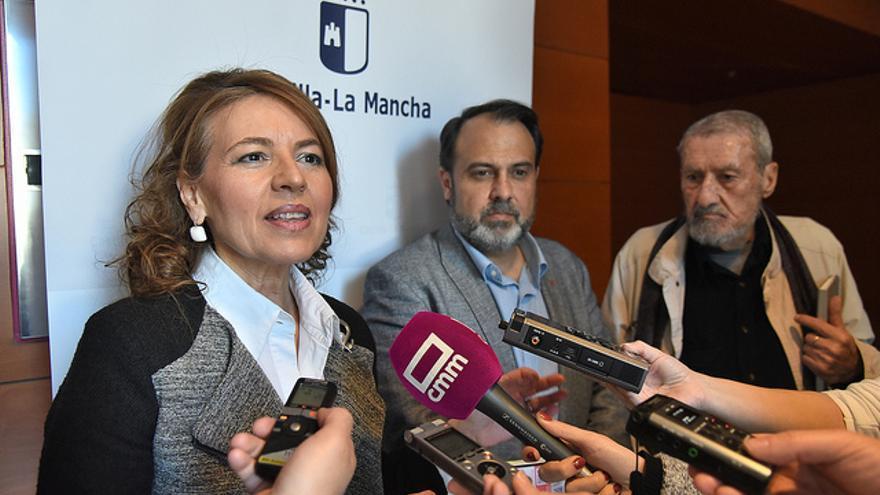 Aurelia Sánchez, Javier Mateo y Marco Marchioni