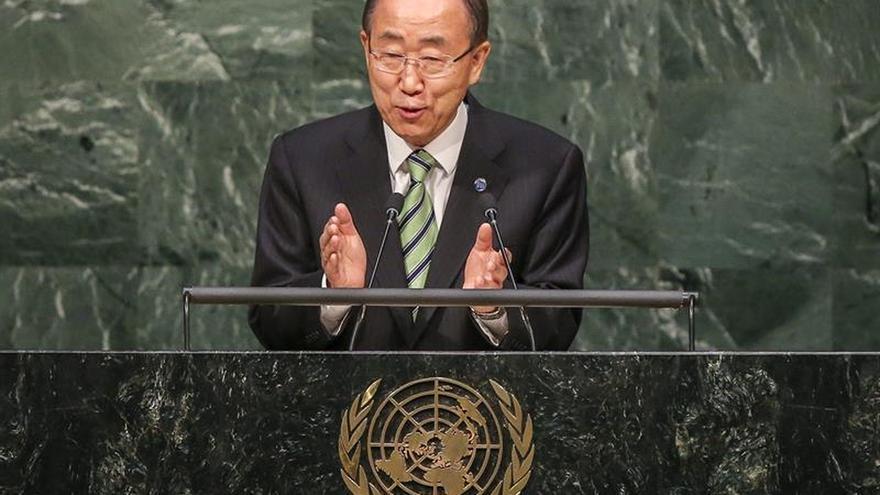 """Ban Ki-moon: """"Los que explotan el miedo a los violentos, caen en sus manos"""""""