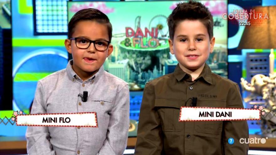Dani y Flo abren el programa con sus mini yo por el Día Mundial del Niño