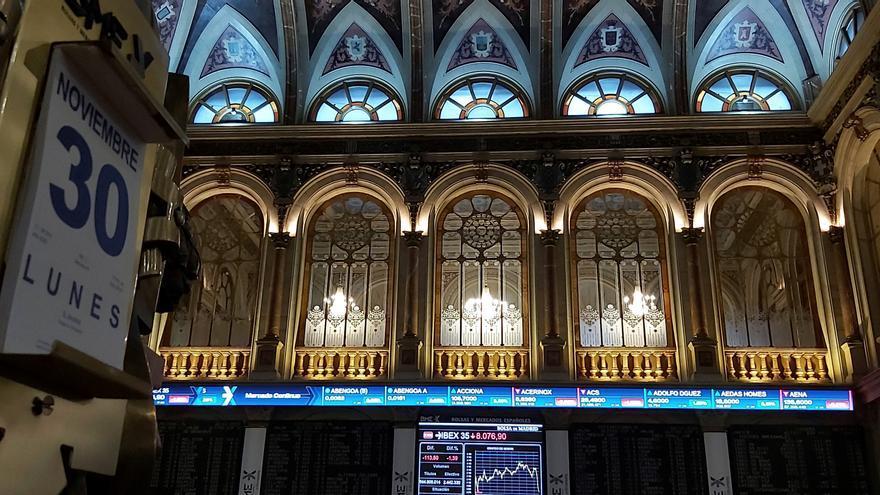 La Bolsa española inaugura diciembre con una subida del 0,49 %