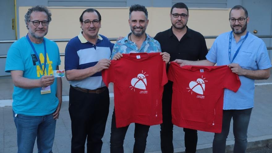 El cantante Jorge Drexler anima desde Córdoba a hacerse donante