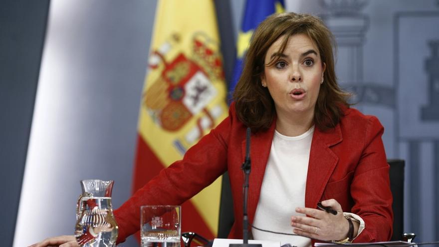 """La vicepresidenta sobre acusaciones de machismo a Cañete: """"Algunas hemos oído determinadas cosas y nadie dijo nada"""""""