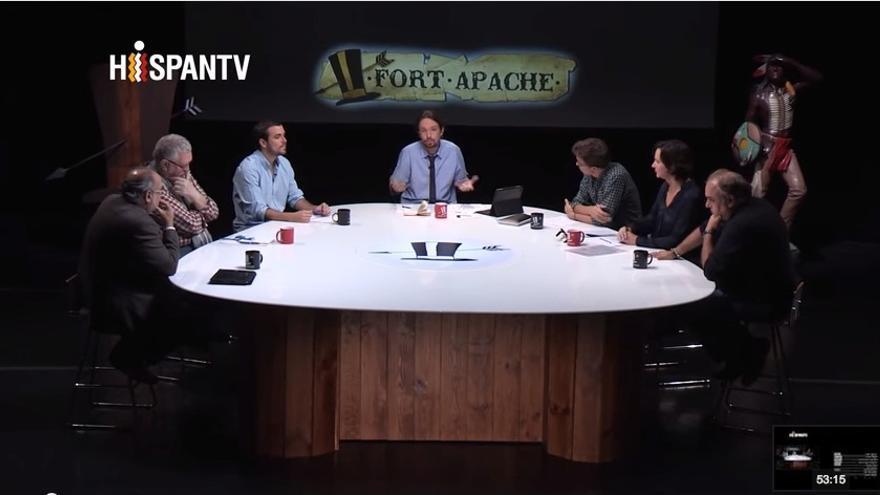 Debate de 'Fort Apache' sobre populismo y Podemos.