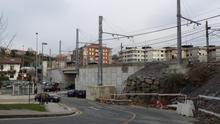 Retoman unas obras paralizadas durante dos años en Donostia