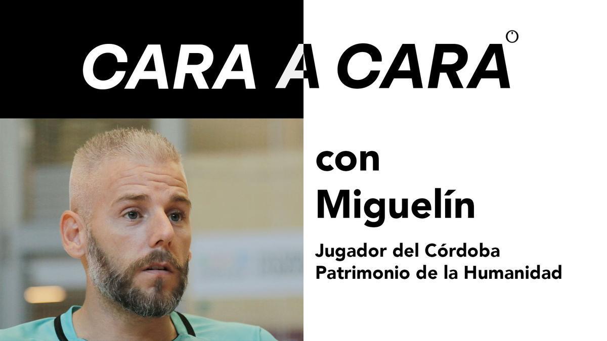 Cara a cara con Miguelín, jugador del Córdoba Patrimonio
