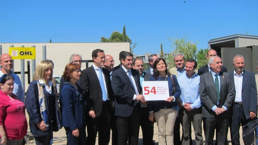 Acto de Echániz con alcaldes sobre el nuevo Hospital de Toledo / Foto: Europa Press