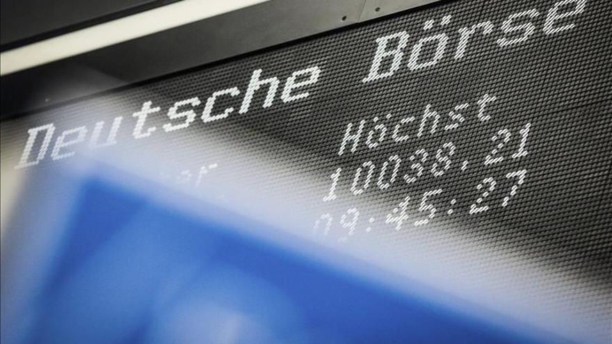 La Bolsa de Fráncfort sube un 0,16 % en la apertura