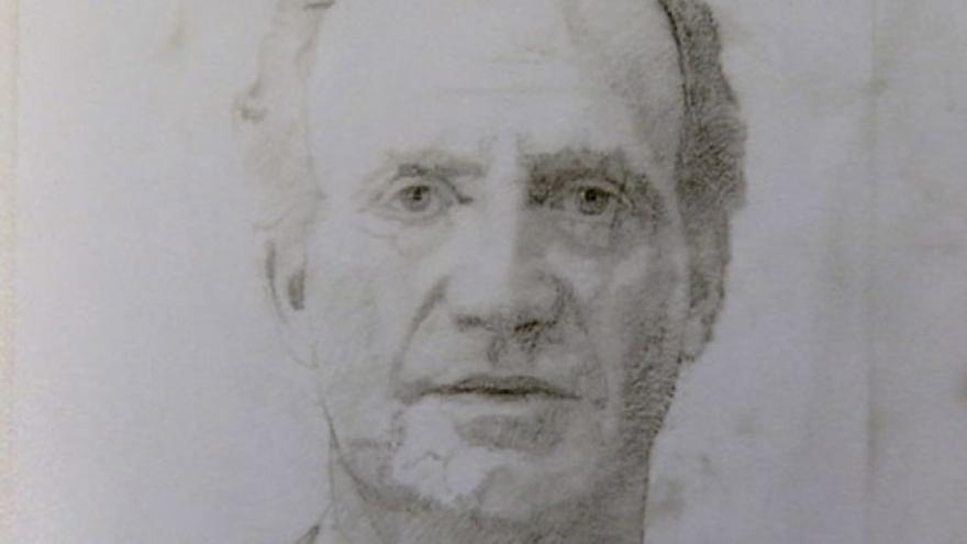 Boceto preparatorio para el retrato de la familia real. Antonio Lopez