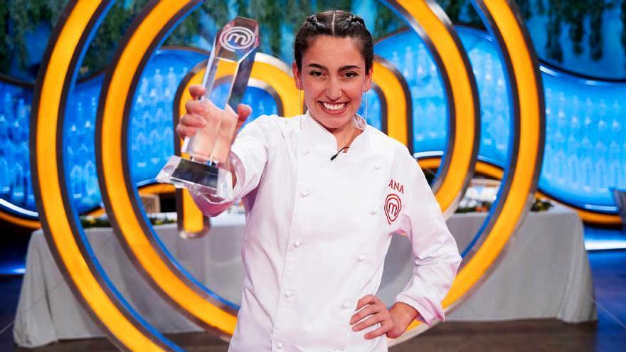 Ana Iglesias, ganadora 'Masterchef 8'