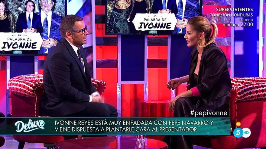 Enfado en 'Deluxe' por las cláusulas de Ivonne Reyes: 'No te pone en buen lugar'