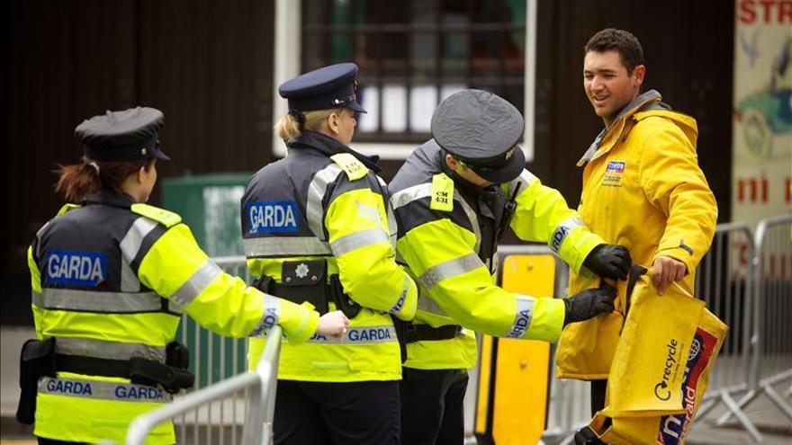 La Policía descubre en la frontera irlandesa un arsenal de disidentes del IRA